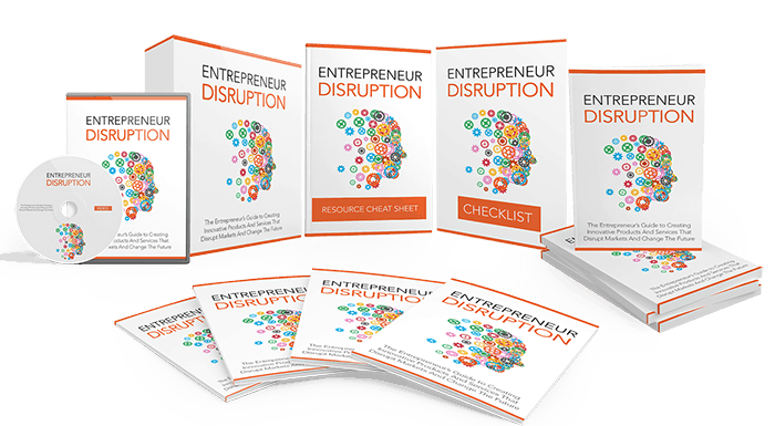 Entrepreneur Disruption Sales Funnel with Master Resell Rights