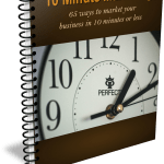 Simple 10 Minute Marketing Tips For Small Business Owners PLR Report