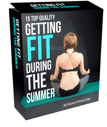 Getting Fit During the Summer PLR Articles Pack