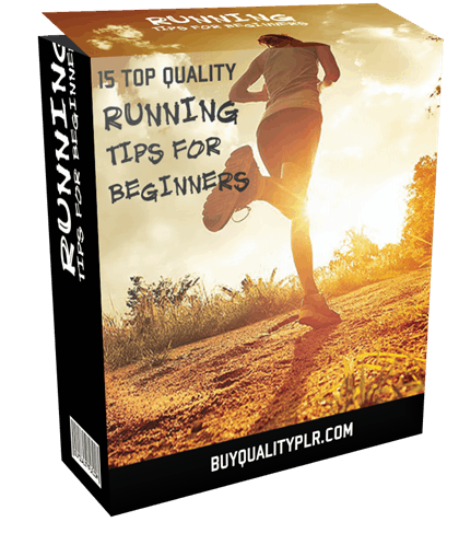 15 Top Quality Running Tips For Beginners PLR Articles Pack