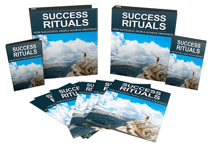 Success Rituals Sales Funnel with Master Resell Rights Bundle
