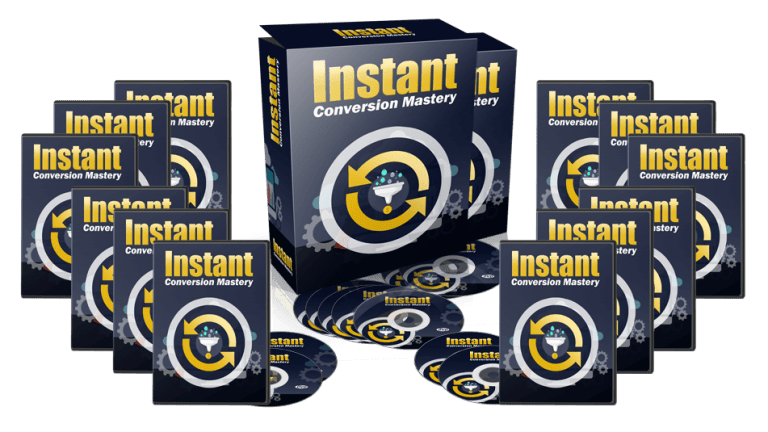 Instant Conversions Mastery Sales Funnel with Resell Rights