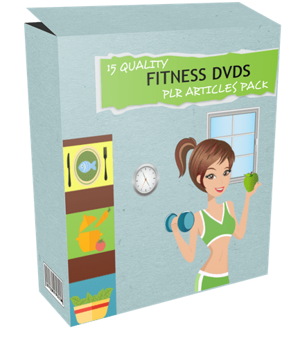 15 Quality Fitness DVDs PLR Articles Pack