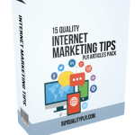 15 Quality Internet Marketing Tips PLR Articles Pack