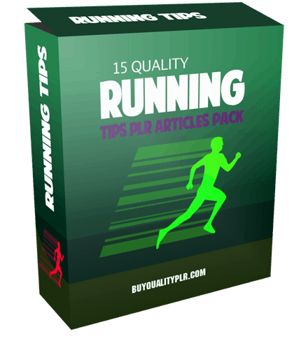 15 Quality Running Tips PLR Articles Pack