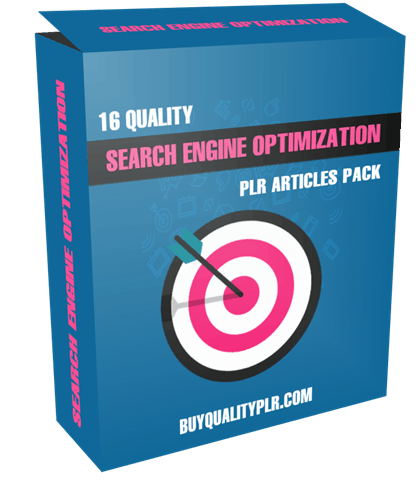 16 Quality Search Engine Optimization PLR Articles Pack