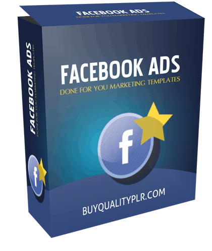 Facebook Ads Done For You Marketing Templates