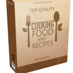 Top Quality Cooking Food and Recipes PLR Bundle