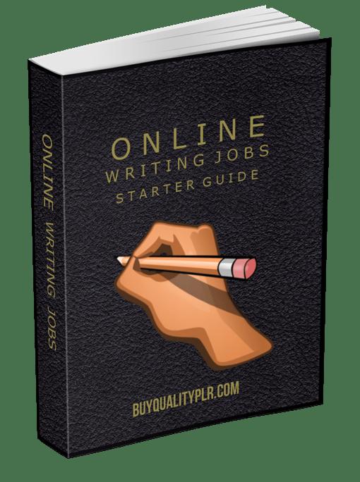 Online Writing Jobs Starter Guide PLR eBook
