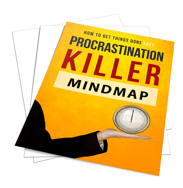 Procrastination Killer Sales Funnel with Master Resell Rights Mindmap