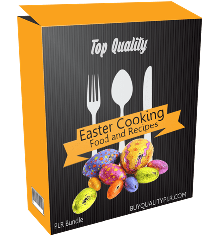 Top Quality Easter Cooking Food and Recipes PLR Bundle