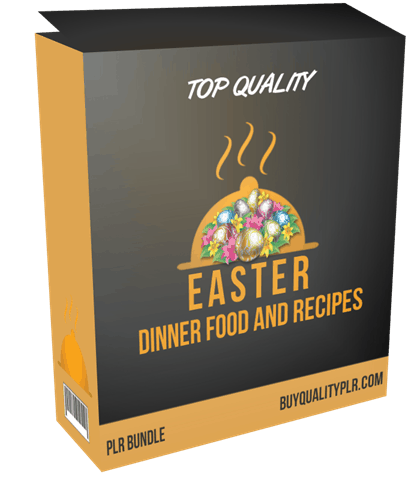 Top Quality Easter Dinner Food and Recipes PLR Bundle