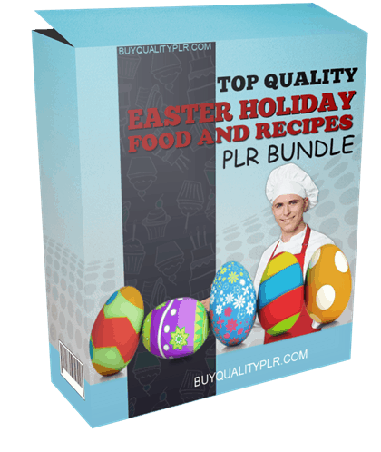 Top Quality Easter Holiday Food and Recipes PLR Bundle