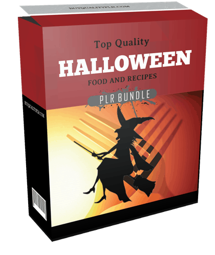 Top Quality Halloween Food and Recipes PLR Bundle