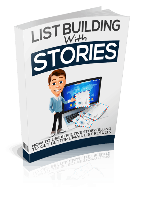 List Building With Stories Sales Funnel with Master Resell Rights