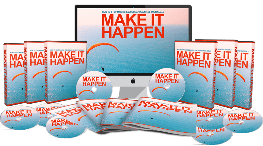 Make It Happen Sales Funnel with Master Resell Rights