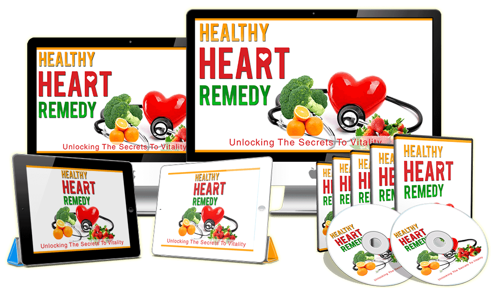 Healthy Heart Remedy Sales Funnel With Master Resell Rights Video