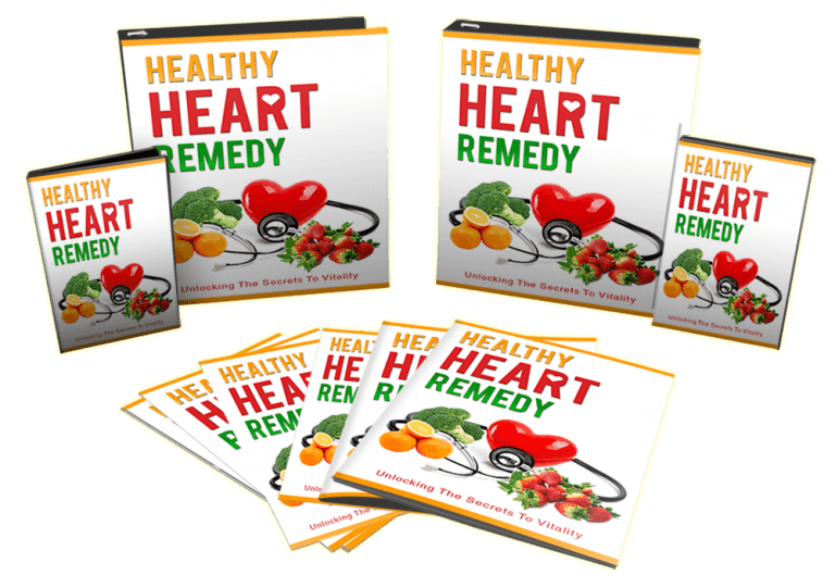 Healthy Heart Remedy Sales Funnel With Master Resell Rights