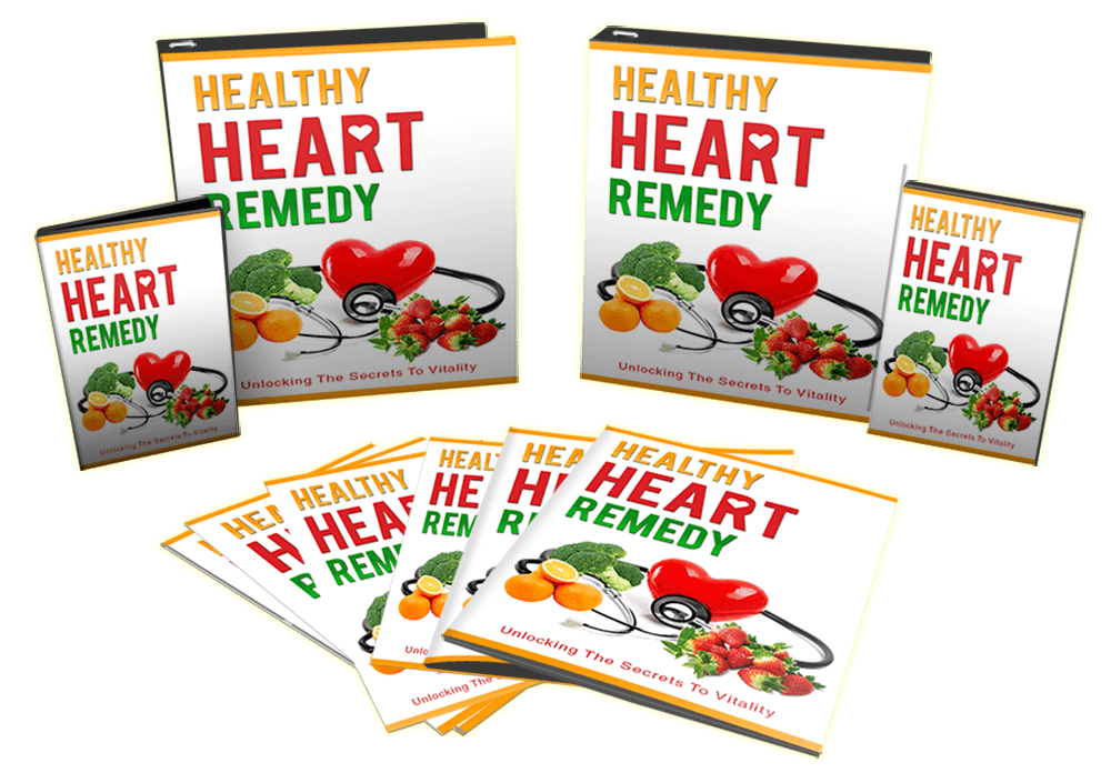 Healthy Heart Remedy Sales Funnel With Master Resell Rights Bundle