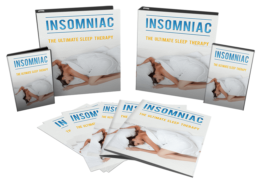 Insomniac Sleep Therapy Sales Funnel With Master Resell Rights PLR Bundle