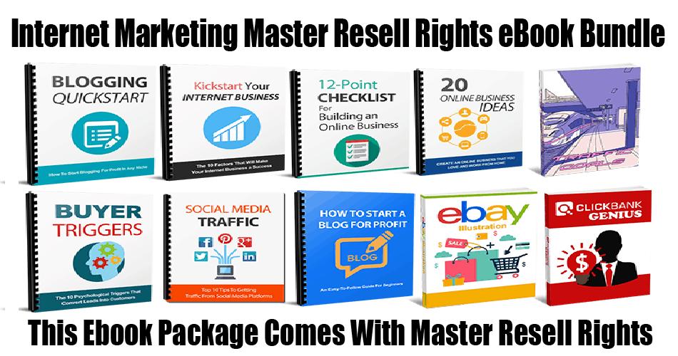 Internet Marketing Master Resell Rights Ebook Bundle Version 2