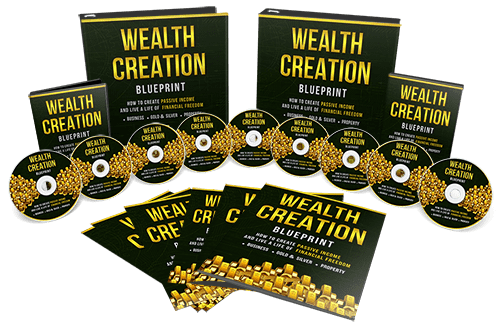 Wealth Creation Blueprint Sales Funnel With Master Resell Rights