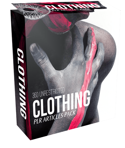360 Unrestricted Clothing PLR Articles Pack