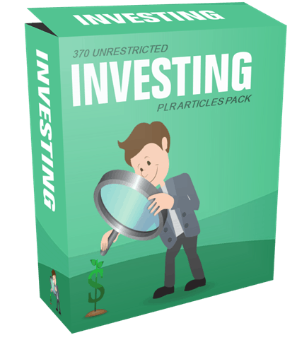 370 Unrestricted Investing PLR Articles Pack
