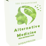 500 Unrestricted Alternative Medicine PLR Articles Pack