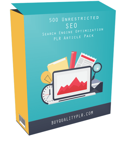 500 Unrestricted SEO PLR Articles Pack