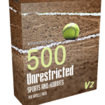 500 Unrestricted Sports And Hobbies PLR Articles Pack V2