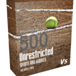 500 Unrestricted Sports And Hobbies PLR Articles Pack V5