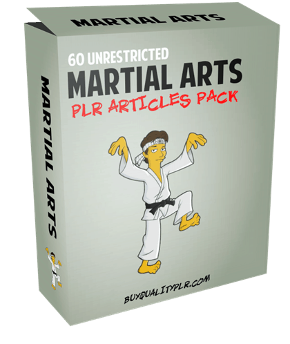 60 Unrestricted Martial Arts PLR Articles Pack