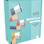 650 Unrestricted Marketing PLR Articles Pack V2