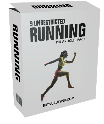 9 Unrestricted Running PLR Articles Pack
