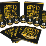 Cryptocurrency Secrets Sales Funnel with Master Resell Rights