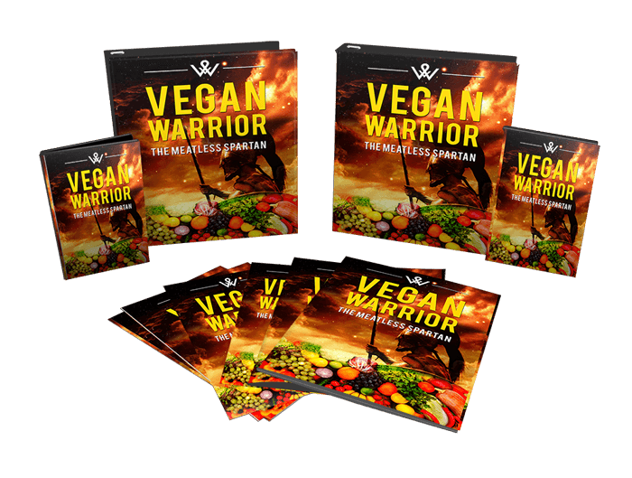 Vegan Warrior Sales Funnel with Master Resell Rights