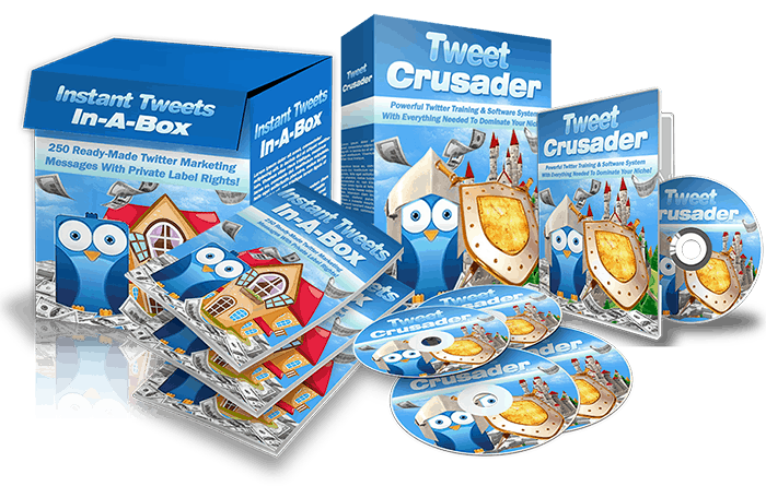 Instant Tweets In A Box PLR Pack Resell PLR