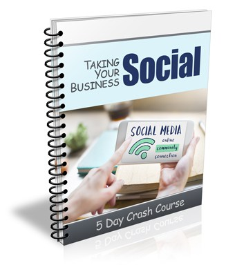 Taking Your Business Social PLR Newsletter eCourse Package