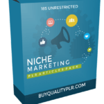185 Unrestricted Niche Marketing PLR Articles Pack