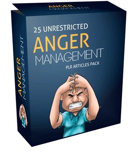 25 Unrestricted Anger Management PLR Articles Pack