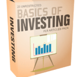 25 Unrestricted Basics of Investing PLR Articles Pack