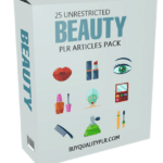 25 Unrestricted Beauty PLR Articles Pack