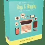 25 Unrestricted Blogs & Blogging PLR Articles Pack