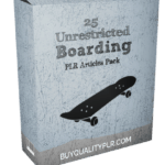 25 Unrestricted Boarding PLR Articles Pack