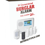 25 Unrestricted Burglar Alarm PLR Articles Pack
