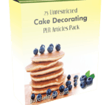25 Unrestricted Cake Decorating PLR Articles Pack