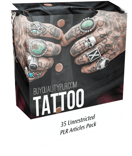 35 Unrestricted Tattoo PLR Articles Pack