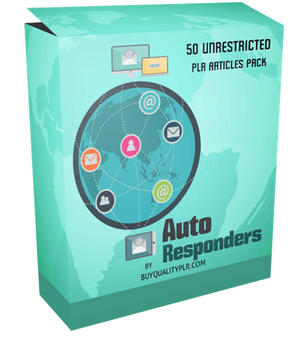 50 Unrestricted AutoResponders PLR Articles Pack