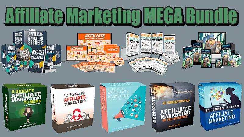 Affiliate Marketing MEGA Bundle